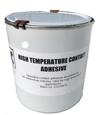 Contact adhesive - High Temperature / Heat resistant - Car Trim / Upholstery