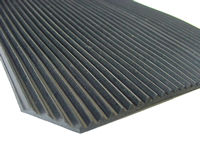 Ribbed Rubber Matting, 3mm Fine Rib