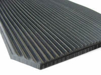 Ribbed Rubber Matting, 6mm Fine Rib